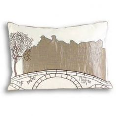 Bring a stylish look to your home with this range of Dutch inspired cushion covers, made in a cotton fabric and featuring scenes of Amsterdam created in embroidery and appliques.
