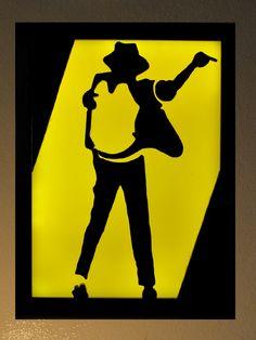 Michael Jackson Led Light Box