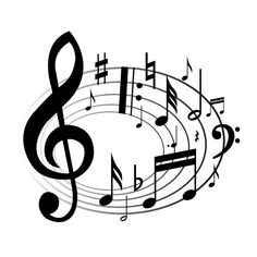 Music Notes Clip Art iPhone 6 Plus Case PC Black inch) At Colored Cases Store Musical Notes Clip Art, Music Notes Art, Art Music, Piano Music, Folk Music, Music Note Symbol, Music Symbols, Girl Scout Songs, Girl Scouts