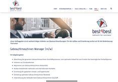 Ein best4best Jobangebot! Success, Management, Running Away, Things To Do