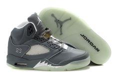 new style 54658 80f34 Men s Nike Air Jordan 5 Luminous Bottom Gray Shoes Jordan V, Jordan Swag,  Jordan