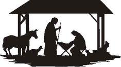 free printable nativity scene patterns | Manger Scene Silhouette Patterns http://www.patternsrus.com ...