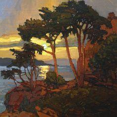 """Black Diamond Bay"" By Jan Schmuckal - ca. Mountain Landscape, Landscape Art, Landscape Paintings, Landscape Illustration, Illustration Art, Paintings I Love, Light Painting, Painting Inspiration, Watercolor Art"