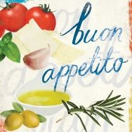 buon appetito food & typography