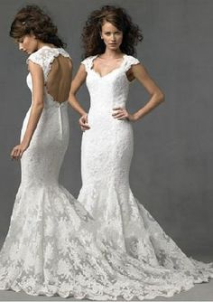 mermaid wedding dress patterns    SO CLOSE to being what I want.