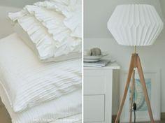 DIY Origami Lamp - Use a 80 x 50 cm paper sheet for a 40 cm of diameter lamp