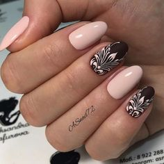 Trendy 60 Nail Art Pictures 2018   Tune in, we adore Ballet Slippers and Topless and Barefoot as much as any other person, however, there's just so much pale pink you put on your nails to the point that it feels dull. So comes spring, it's prime time to break out the runway inspo we saw at the spring 2018 shows.
