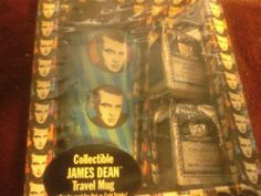 I'm selling Collectible James Dean Travel Mug with House Coffee - $9.00 #onselz