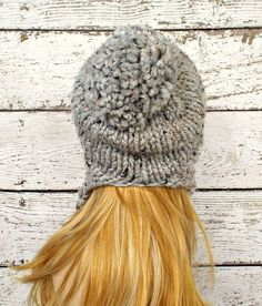 Instant Download Knitting Pattern Knit Ear Flap Hat by pixiebell