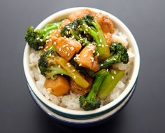 The kids would love this!   (Tried it.  Even with red wine vinegar instead of rice wine, it was pretty good.  Might have to make it for the whole family for dinner.)