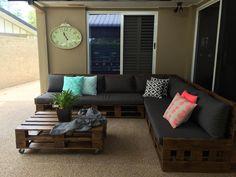 Pallet Porch #Sofa Set - 125 Awesome DIY Pallet Furniture Ideas | 101 Pallet Ideas - Part 10