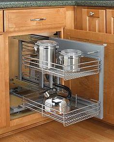35 best blind corner cabinet images storage crates closet storage rh pinterest com