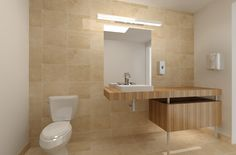 Bathroom Office