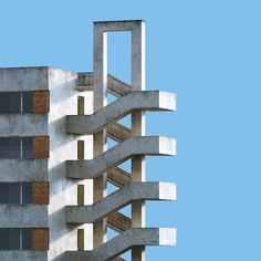 In een render is alles mooier, zelfs Sovjet-architectuur. Dat laat Andrei Lacatusu zien in de serie Socialism. [[MORE]]Surrounded by the decaying socialist architectural legacy, I somehow. Stairs Architecture, Architecture Design, Perspective Photography, Minimalist Architecture, Interesting Buildings, Scandinavian Interior Design, Socialism, Brutalist, Arquitetura