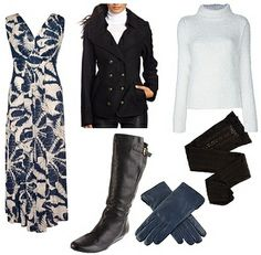 How to Wear a Dress with Boots | How to Wear Long Summer Dresses in Winter