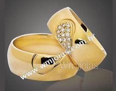 447de530e03e0 Aliança de noivado e casamento Aliança em ouro amarelo 18k 750 Peso  20  gramas o