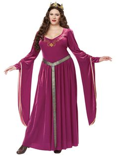 Lady Guinevere Women's Costume
