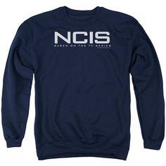 NCIS CBS TV Show Based on the TV Series Logo Adult Crewneck Sweatshirt