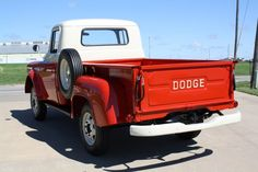 """Additionally, the Dodge Power Wagon was the very first assembly line truck with four wheel drive and a V8 motor manufactured for """"civilian"""" use. Description from happycarz.com. I searched for this on bing.com/images"""
