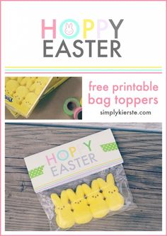 Easter Printable Bag Topper