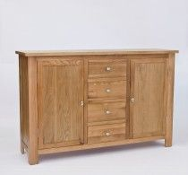 Our Lansdown Oak furniture collection offers sleek, contemporary styling, superb manufacturing quality and incredible value for money. Light Oak Furniture, Kitchen Furniture, Living Room Furniture, Home Furniture, Kitchen Dining, Modern Chest Of Drawers, Drawer Storage Unit, Large Sideboard, Oak Sideboard