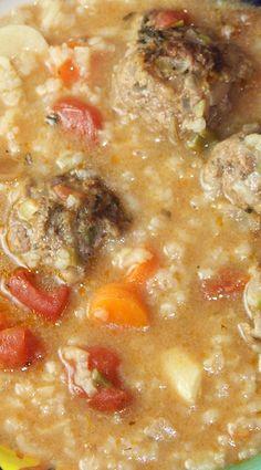 Mexican Albondigas Soup (Instant Pot)