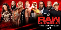 USA Network will air two WWE Raw Reunion replays on Monday night and Tuesday evening Watch Wrestling, Wrestling News, Wrestling Online, Santino Marella, Road Dogg, Jimmy Hart, Pat Patterson, Kevin Nash, Mick Foley