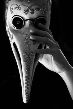 Doctor mask, against plague