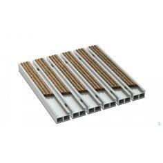 Wycieraczka aluminiowa Alfa h 19 mm ryps wkład tekstylny bawełniany mocny Tableware, Dinnerware, Tablewares, Dishes, Place Settings
