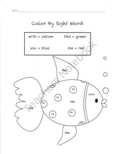 run Worksheets worksheet   on Sight sight   word Pinterest  Reading/Language/Sight Words Word
