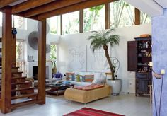 Bohemian Homes: Chilled out surf shack