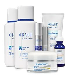 Obagi facial products message simply