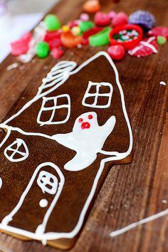 Halloween House Cookies