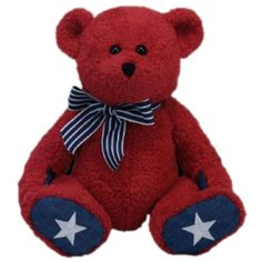 db7a247443713 Ty Classic Patriotic Bear in Red     You can find more details by visiting