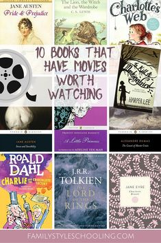 10 Books that have Movies Worth Watching