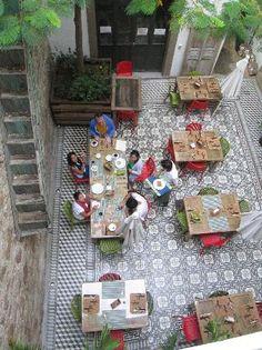 Kuku Ruku Green Boutique House: En el desayuno