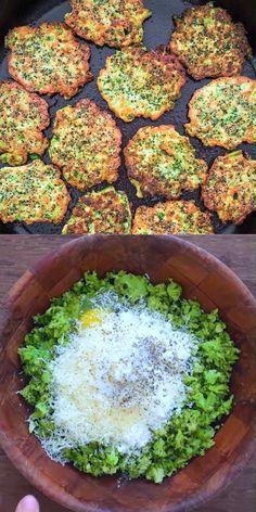 Broccoli Fritters   - COOKTORIA'S VIDEO RECIPES - #broccoli #COOKTORIAS #Fritters #recipes #VIDEO