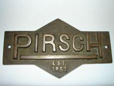 Pirsch fire truck emblem