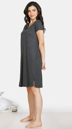 Nightwear, Dresses For Work, Shirt Dress, Shirts, Outfits, Women, Fashion, Moda, Shirtdress