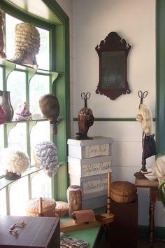 Wigmaker's Shop--Williamsburg, Virginia