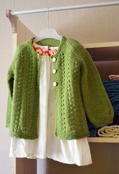 DIY sunday baby sweater - Free Pattern