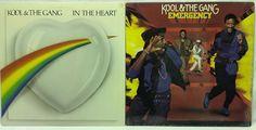 Kool & the Gang LP #Vinyl Record Lot of 2: In the Heart + Emergency