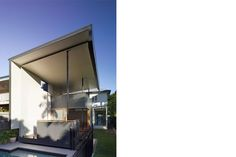 Set among raised and extended Queenslanders on a small 16 perch suburban lot, the modest brief called for additional room to the highest dwelling to… Gordon Parks, Back Doors, Pavilion, Canopy, Swimming Pools, Architecture, Outdoor Decor, Instagram Posts, Design