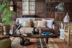 Inspiration - Curate your Space > Amatuli Outdoor Sofa, Outdoor Furniture Sets, Outdoor Decor, Living Spaces, Living Room, Global Style, Interior Stylist, Rustic Chic, Your Space