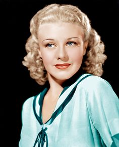Throwback Thursday! Retro hair muse: Ginger Rogers. Can you guess her natural hair color? XOXO The eSalon.com Team