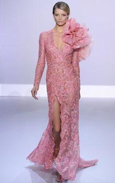 Romantic Pastel Flora Trend Ralph and Russo Spring Summer 2014 #couture #fashion…