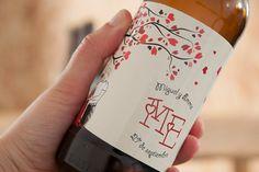 Cervezas personalizadas | María Vilarino