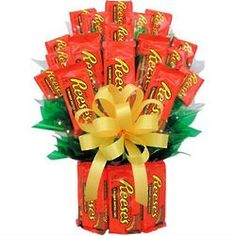 valentine's day reese's bouquet