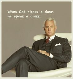 Classic Rodger Silver Fox Sterling. Mad Men. AMC. Thank god it's back soon. I'm having withdrawals.