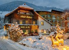 Haubenrestaurant Loystubn im Winter, Bad Kleinkirchheim